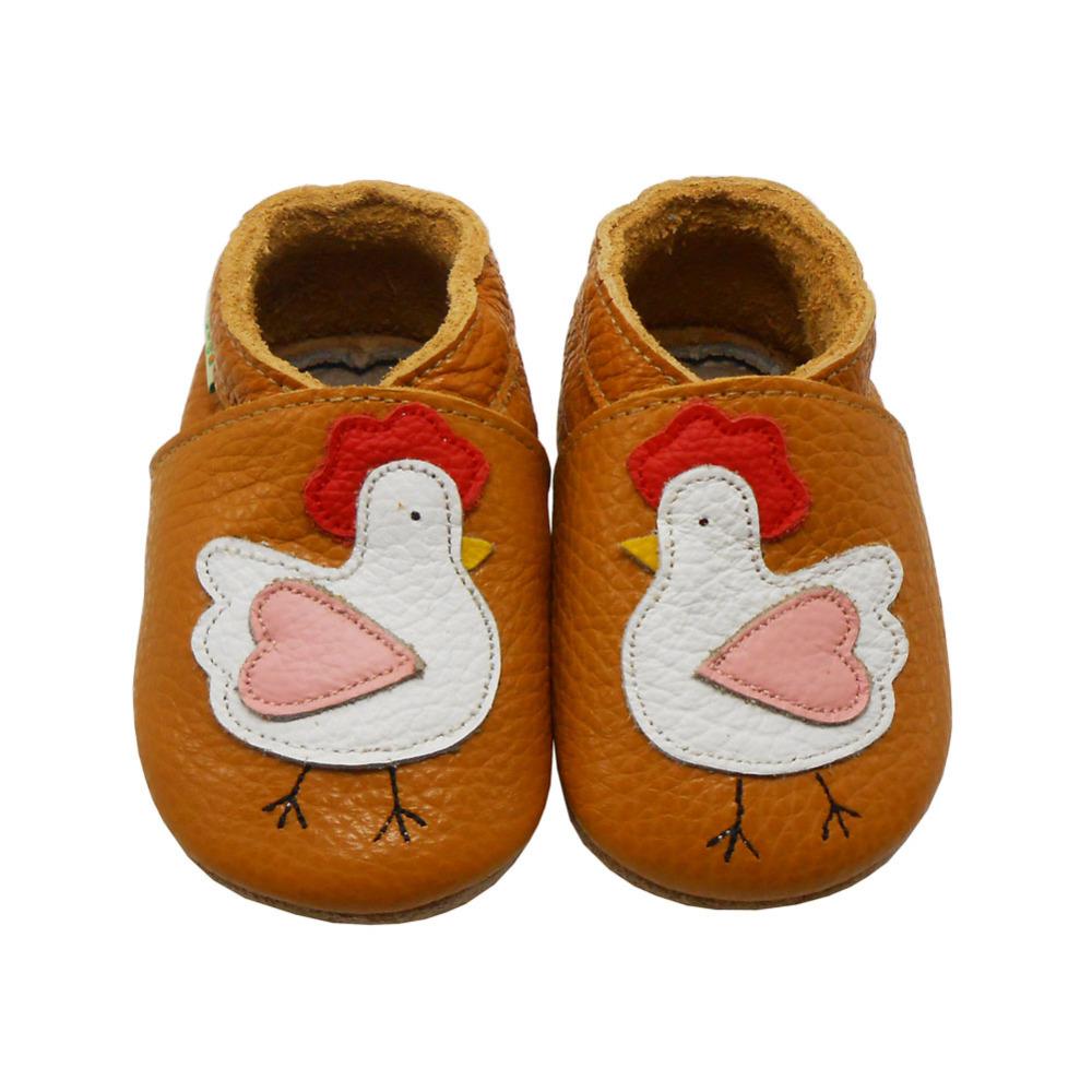Sayoyo On Sale Genuine Cow Leather Baby Moccasin Chicken Baby Shoe Boy Soft Sole Newborn Children Shoes Prewalker Free Shipping()