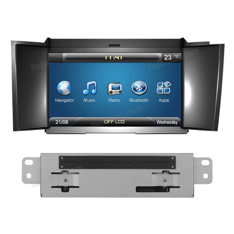 DVD CAR audio navigation system car dvd player C7122CD gps Citroen DS4 bluetooth built-in - Cartouch Entertainment store