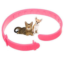 Pet Collar Cat Dog Neck Ring Leaveaway From Flea Tick Mite Louse Remedy Cat Dog Animal Accessories Pink (China (Mainland))