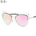 RTBOFY The cat s eye sunglasses brand The famous designer sunglasses women in the dual beam