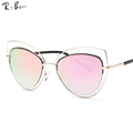 RTBOFY The cat s eye sunglasses brand The famous designer sunglasses women in the dual beam