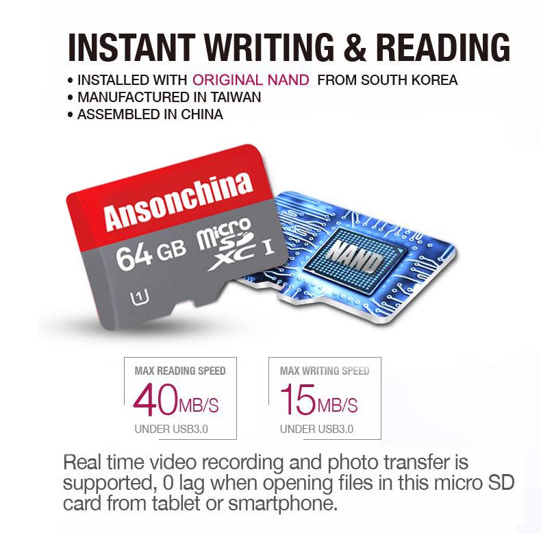 2015 New Arrival Real High Quality 4gb 8gb 16gb 32gb 64gb micro sd card /TF memory card Transflash memory flash cards(China (Mainland))