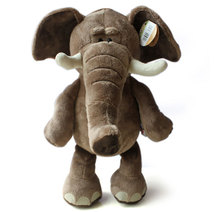 Free shipping New Arrival lovely plush toy elephant 35cm high quality plush toys stuffed doll HT443(China (Mainland))