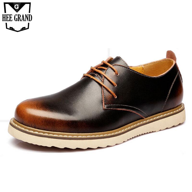 Men Shoes 2016 Vintage British Style Men Oxfords Shoes Plain Men Dress Business Shoes PU Leather Flats Shoes Size 38-43 XMP405<br><br>Aliexpress