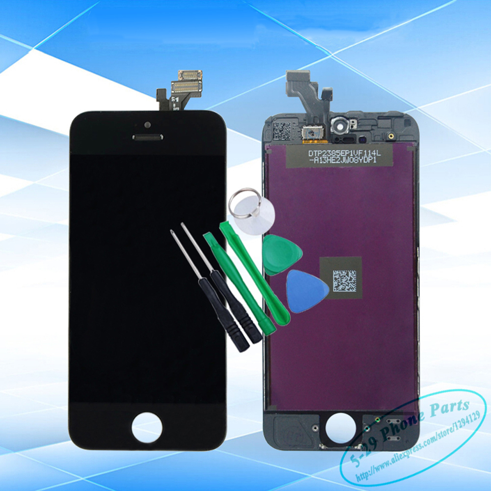 AAA Grade LCD Assembly iPhone 5 Digitize white black Display Touch Screen Replacement - 5-29 Phone Parts store