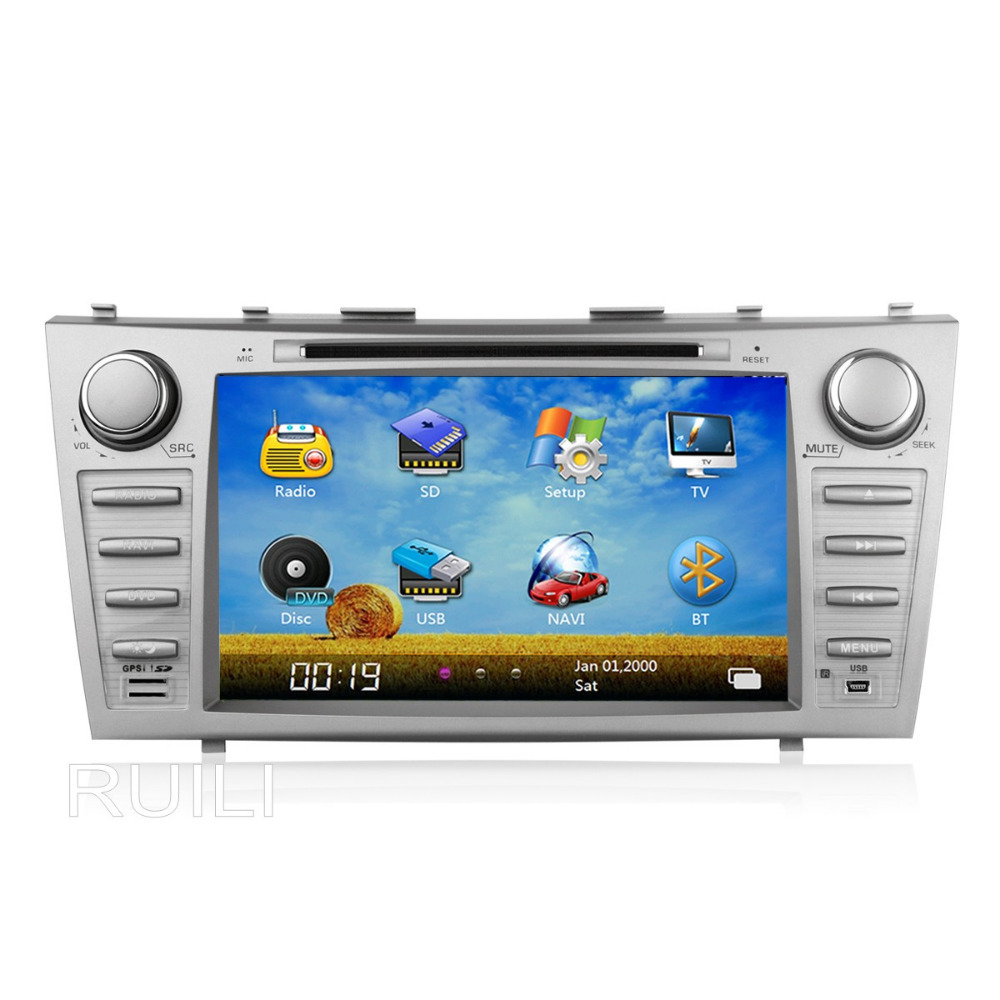 buy 8 inch 2006 2011 toyota camry dvd car stereo dvd gps ra. Black Bedroom Furniture Sets. Home Design Ideas