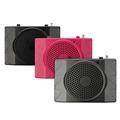 ELEGIANT Mini USB2 0 FM Radio Loudspeakers Teachers Dedicated High Power Amplifier Waist Hanging Microphone New