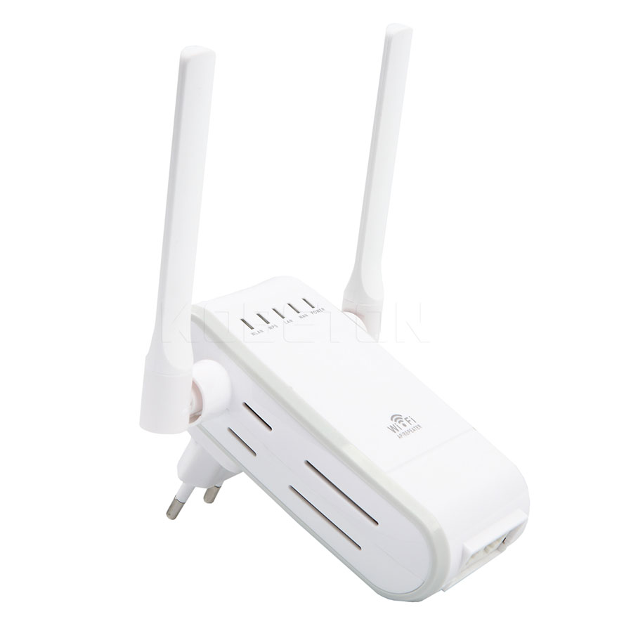 WIFI Repeater Router 300M Dual Antenna Signal Booster Wireless-N wi fi Repeater 802.11N/B/G Network Roteador Wifi EU US Plug(China (Mainland))