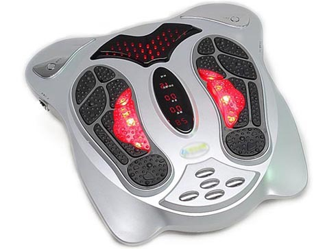 Electric Infrared Foot Massager,health care product,lowest price,personal care pelma massager free shipping by DHL(China (Mainland))