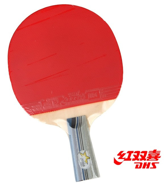 Entry level double happiness table tennis ball x2 x2006 pen double faced anti-adhesive table tennis ball(China (Mainland))