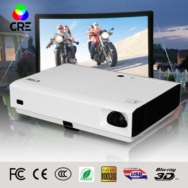 The Latest HD Mobile Android Home Theater Hdmi Movie Dlp Projector Function Video Conference Videoproiettore 3D Full Hd Cinese(China (Mainland))