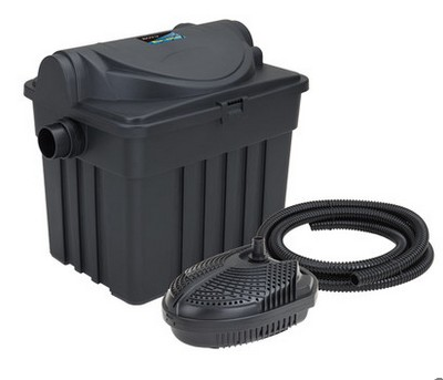 Boyu yt 9000 pond gardening biochemical filter barrel with for Garden pond no filter