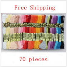 Buy Cross Stitch Floss Yarn Thread Choose Colors Quantity 70 Pieces/Skeins, Free Worldwidely Similar DMC Thread for $15.64 in AliExpress store