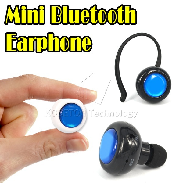 Super Mini Bluetooth Stereo Headset Earphone microphone for iphone 6 plus 5S for sumsung S4 S5 note 3 4 Hands free phone call(China (Mainland))