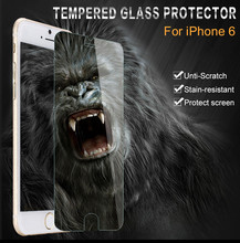 2 Pieces For iphone 6 Plus Tempered Glass Screen Protector Film For Apple iphone 6 Plus 5.5 inch 0.26 mm Phone Protective Film