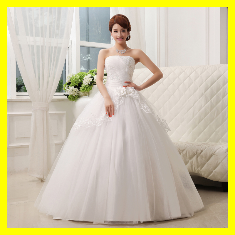 Short plus size wedding dresses cute casual strapless for Cute short wedding dresses