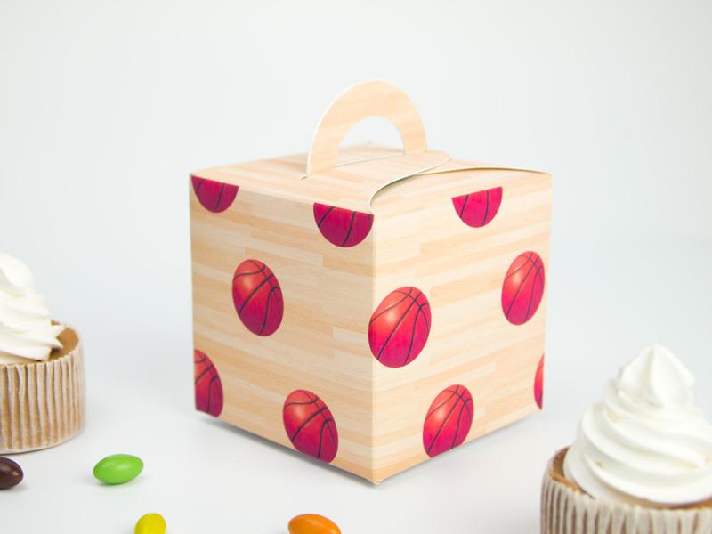 Basketball Theme Favor Box Cupcake Box Candy Box 10PCS/lot Basketball Party Decorations Kids Event & Party Supplies(China (Mainland))