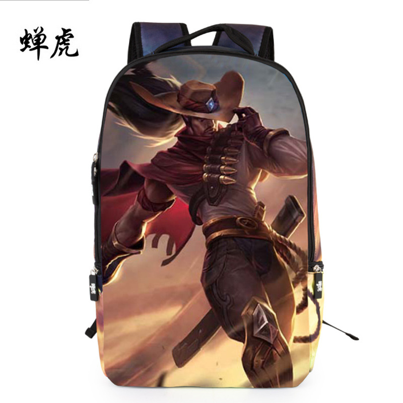 2016 New Hot sale 3D cat characters cartoon embossing boys and girls students bag backpacks school travel backpack fire game bag(China (Mainland))