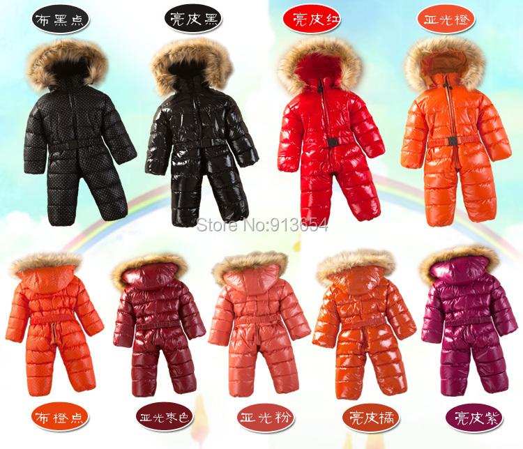 Скидки на Новый 2014 осень зима ползунки детская одежда новорожденного пуховик ползунки мальчик толстый теплый комбинезон пуховик девочка комбинезоны