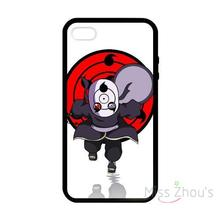 For iphone 4/4s 5/5s 5c SE 6/6s plus ipod touch 4/5/6 back skins mobile cellphone cases cover naruto tobi obito uchiha chibi