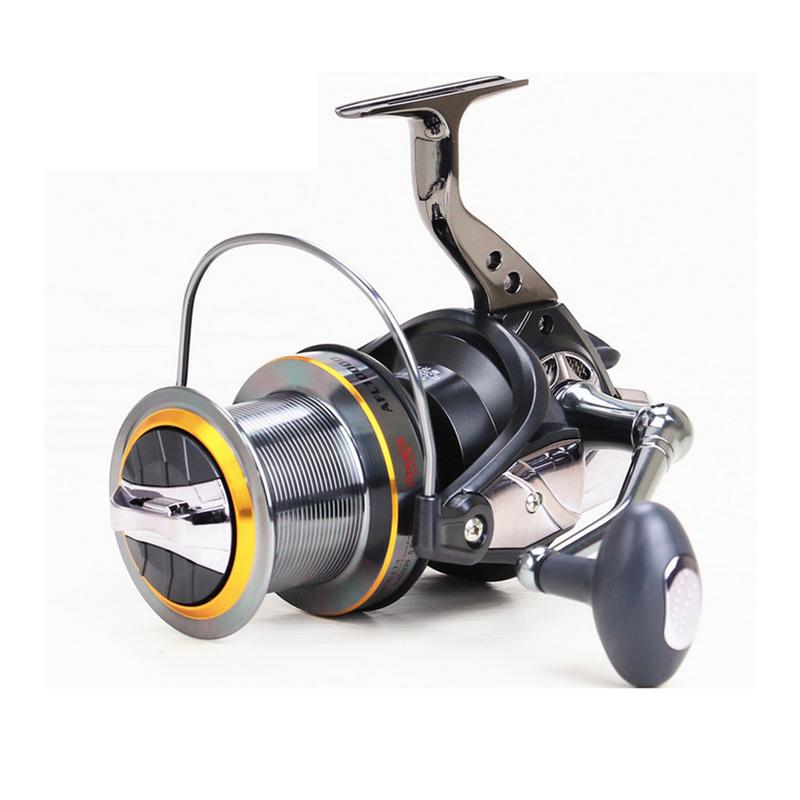 Powerful Large Capacity 11BB Fishing Spinning Reel All Metal Gapless Fishing Reel AFL8000 9000 10000 11000 12000 for Sea Fishing(China (Mainland))