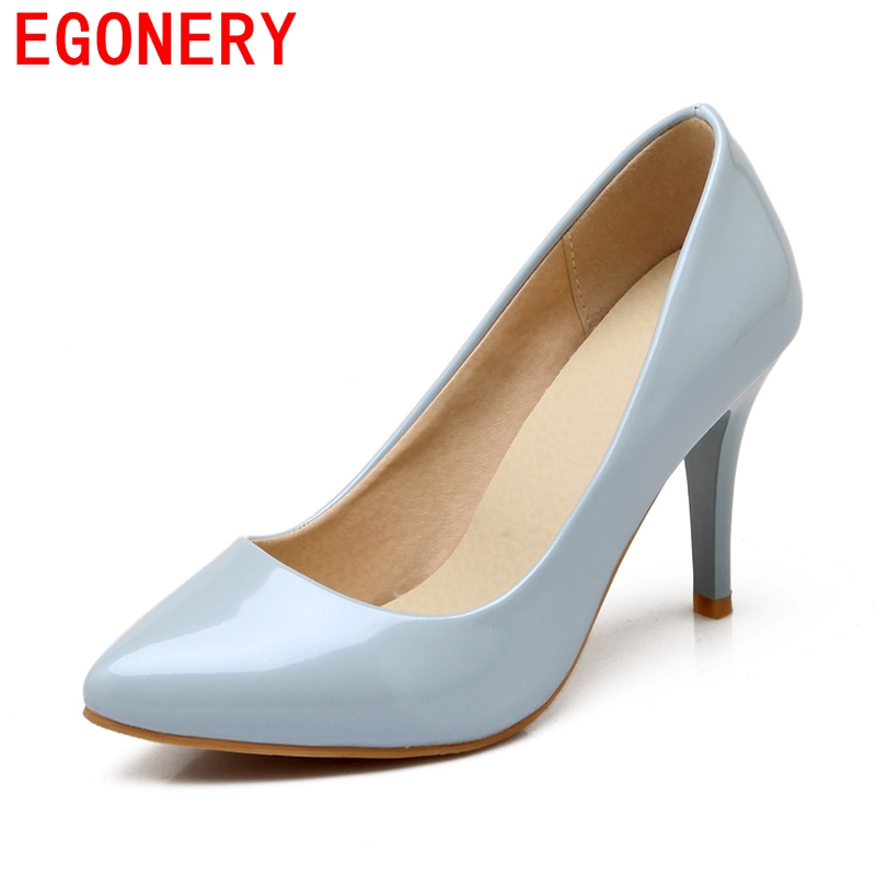 2016 free shipping high quality  pumps women shoes 8.5cm thick high heels dance pumps women shoes beautiful office lady pumps<br><br>Aliexpress