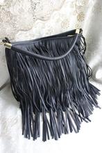 Кисточка один наплечная сумка искусственная кожа сумочка косой ранец мешок