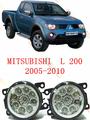 For mitsubishi L200 2005 06 07 08 09 10 11 12 car styling led fog lights