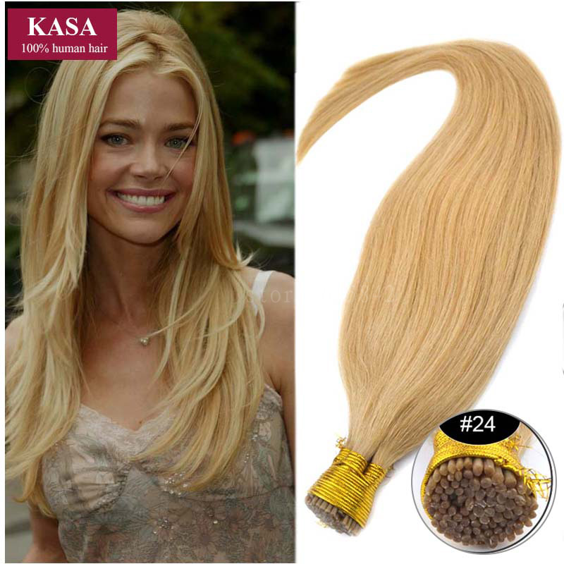 Medium Natural Blonde Hair Extensions 82