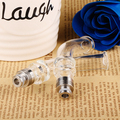 Sailing authentic 510 long Drip tip Pyrex Glass Stainless core Mouthpiece bend for electric cigarette vape