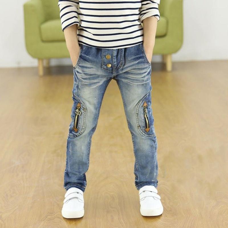2017 printemps et automne enfants pantalons Stretch joker jeans enfants jeans