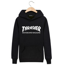 2015 Winter Hedging Thrasher Hoodie Clothing Thin Trasher Sweatshirt Capucha Couple Pentagram hip hop sudaderas hombre Autumn(China (Mainland))