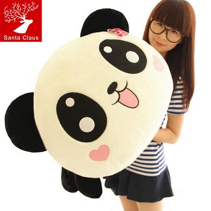 "18"" 45cm Giant Panda Pillow Plush Toys Stuffed Animal Toy Pillow Plush Bolster Pillow Doll Valentine's Day Gift Kids Gift(China (Mainland))"
