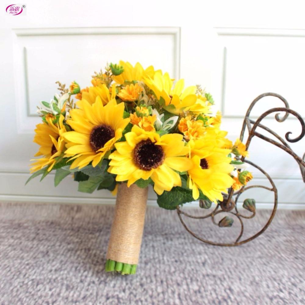 achetez en gros de tournesol tissu fleurs en ligne des grossistes de tournesol tissu fleurs. Black Bedroom Furniture Sets. Home Design Ideas