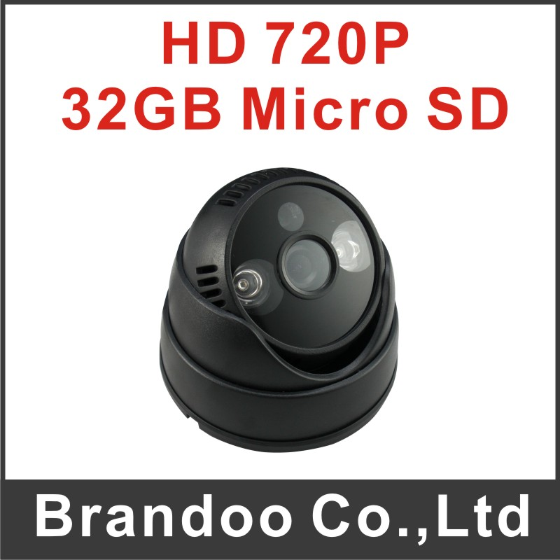 Hot sale 2 array LED night vision SD CAMERA, 32GB sd card used, auto recording, DIY installation, 3pcs per lot model BD-407(China (Mainland))