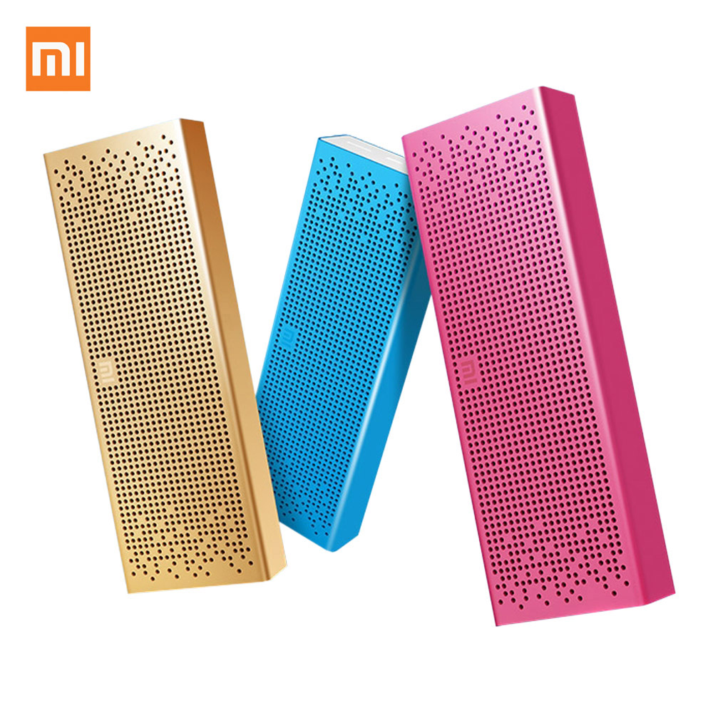 Original Xiaomi Bluetooth Speaker Wireless Mini Stereo Amplifier with Mic Handsfree MP3 Player Support TF Aux for Phone Samsung<br><br>Aliexpress