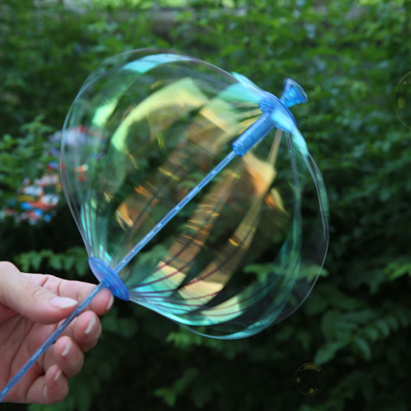 Free Shipping Funny Plastic Colorful Outdoor Bubble Shook Stick Play Outdoor Activety Toy For Children Kid Baby