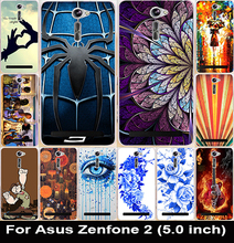 Soft TPU & Hard PC Cell Phone Cases Asus Zenfone 2 5 inch ZE500CL Covers Hot Family Eye Batman Housing Skin Shell Bag - AKABEILA Official Store store