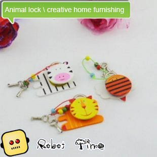 Animal lock \ creative home furnishing \ wood
