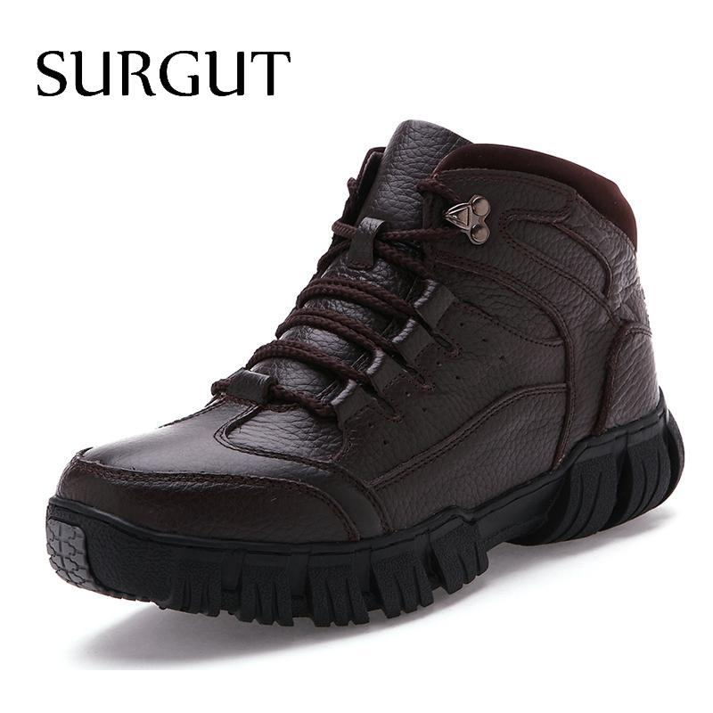 New Arrival Fashion Design Men Snow Boots Plus Fur Warm Winter Shoes Outdoor Work Martin Boots Rubber Bottom Ankle Boot<br><br>Aliexpress