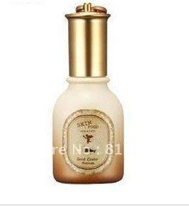 Free shipping 100% Quality Guarantee 12pcs/lot skin food top Gold Caviar Serum Facial essence Face Cream 45ml,HOT SELLING(China (Mainland))