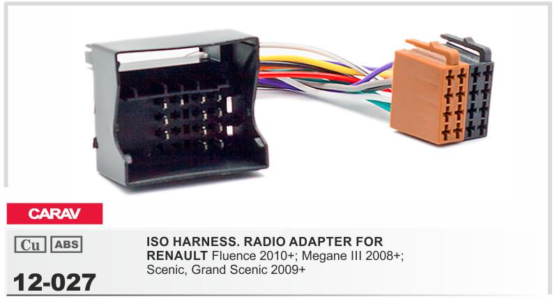 Carav 12 027 Iso Radio Adapter For Renault Fluencemegane Iii Rhdhgate: Ford Radio Pinout 3 Plug At Gmaili.net