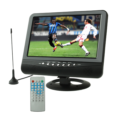 9.5 inch TFT LCD color Analog TV with wide view angle Support SD MMC Card USB Flash disk AV In/AV Out FM Radio function Outdoor(China (Mainland))