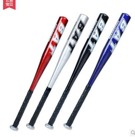 1pc 25 inch (62cm) baseball bats aluminium alloy baseball bat sports Red black,silver,blue to mix(China (Mainland))