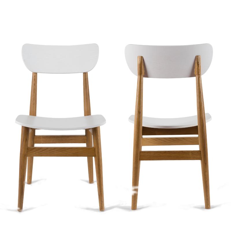 2x sedie moderne sedia da pranzo panca di legno sedia per - Sedia da pranzo ...