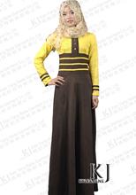 Muslim abaya dress Dubai abayas Middle East prayer garments Arabic Islamic clothing women plus size long maxi dresses 15033007(China)