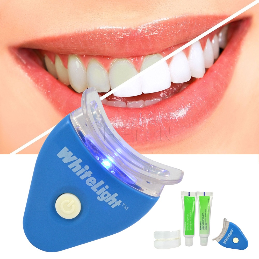 2016 Hot  White LED Light Teeth Whitening Tooth Gel Whitener Health Or