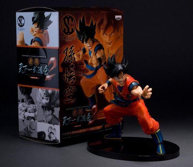 Dragon Ball Z Цифры Гоку ПВХ Фигурку Игрушки 15 СМ Модель Статуэтки, Подарки Бесплатная Доставка