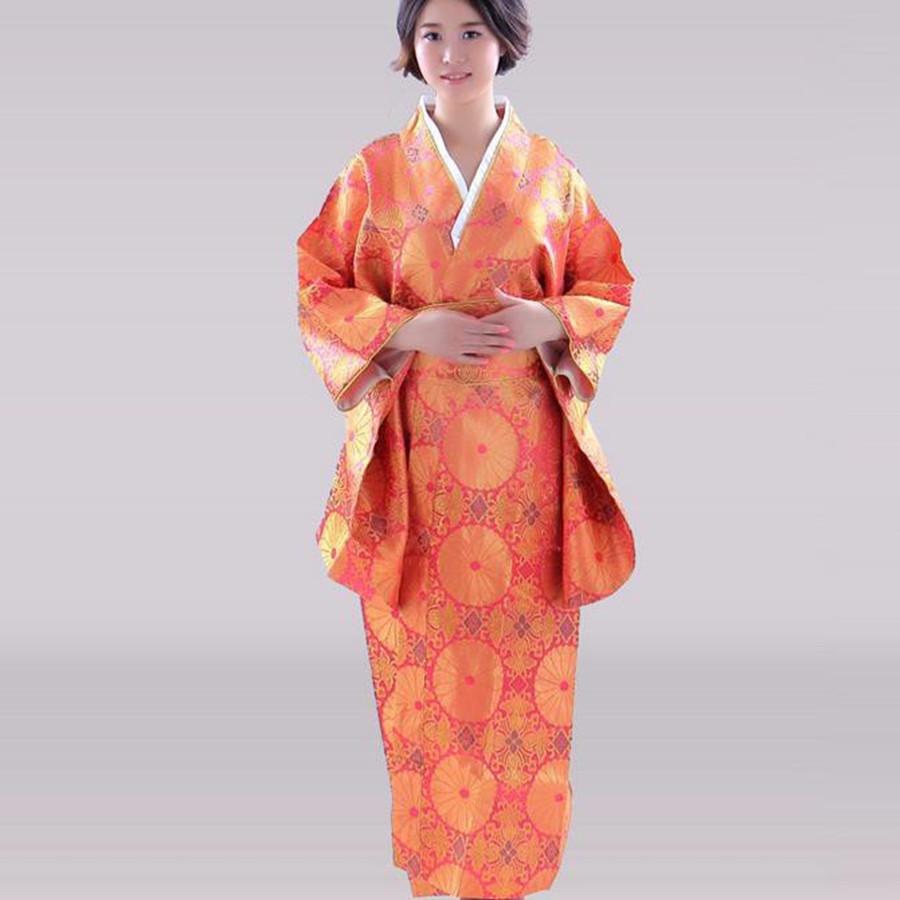 Achetez en Gros Orange kimono en Ligne u00e0 des Grossistes ...