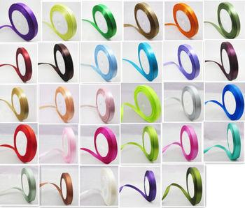 "wedding festival Craft Satin Ribbon for wedding decoration 1 Roll 25 Yards 5/8"" 15mm gift packing Ribbon Bow CM01"